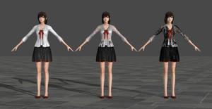 Miku Hinasaki - Fatal Frame 5 by TheForgottenSaint47