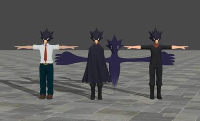 Fumikage Tokoyami - My Hero Academia One's Justice by TheForgottenSaint47