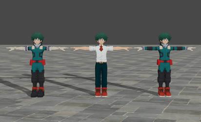 Izuku Midoriya - My Hero Academia One's Justice by TheForgottenSaint47