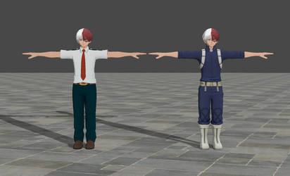 Shoto Todoroki - My Hero Academia One's Justice by TheForgottenSaint47
