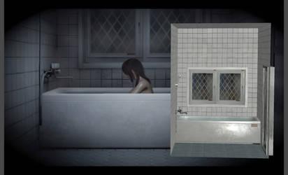 Bathroom Scene - Fatal Frame 5 (XPS Only) by TheForgottenSaint47