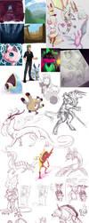 art+sketch+tumblr dump by crow559