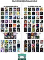 Good vs. Evil Meme by db1993