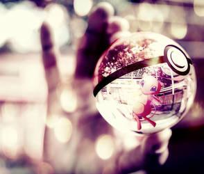 Mew pokeball by Jonathanjo