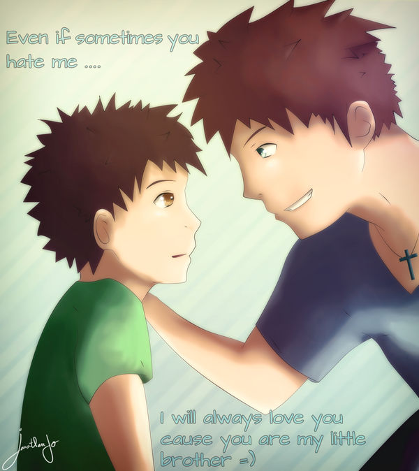 I Love You Little Bro By Jonathanjo On Deviantart
