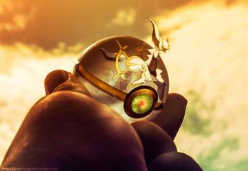 The Pokeball of Arceus by Jonathanjo