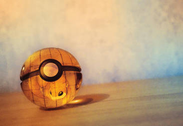 The Pokeball of Sandshrew by Jonathanjo