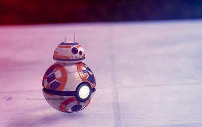 BB8 as a Pokeball (Star Wars) by Jonathanjo