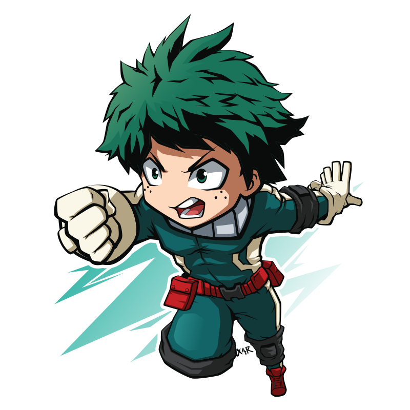 FA Midoriya / Deku By XaR623 On DeviantArt
