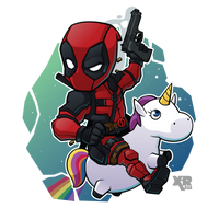 FA Deadpool by XaR623