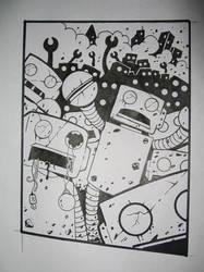 zom-bots by bizarronumber1