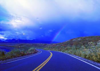 Rainbow Roads by anitawirawan