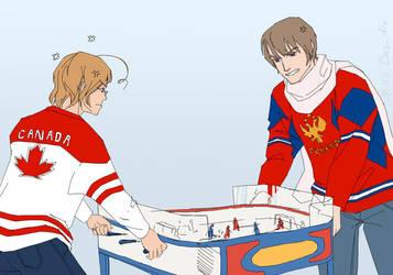APH: Russia Canada by Das-diz