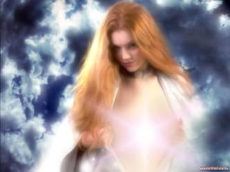 Angel In The Sky by cyberartist