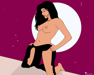 Moonshadow vec.1 by cyberartist