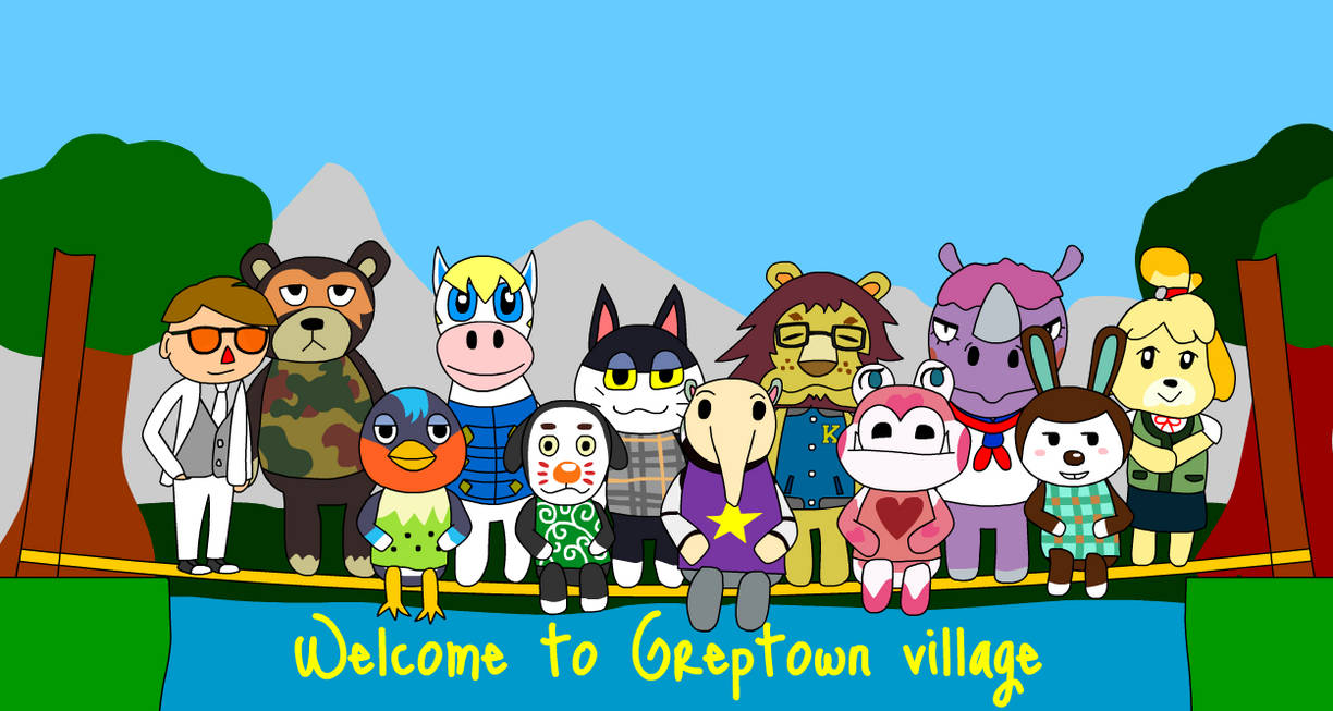 Animal Crossing New Leaf - Village Portrait by darkest-chaos