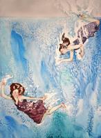 Dive and Swim by insanellamagirl