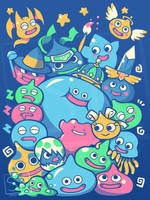 SLIME PARTY - shirt design by SarahRichford