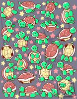 SO many turtles pattern by SarahRichford