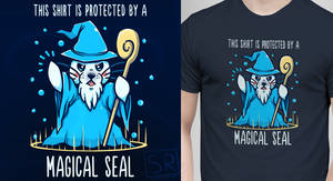 This Shirt is Protected by a Magical Seal by SarahRichford