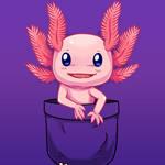 DesignbyHumans Design of the Day - Pocket Axolotl by SarahRichford
