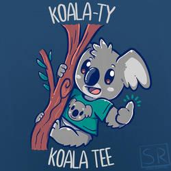 A koala-ty Koala Tee - TechraNova Design by SarahRichford