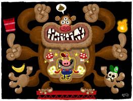 Mario vs Donkey Kong by mexopolis