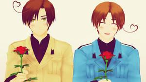 MMD - Due rose per te... by Ayumichigolove