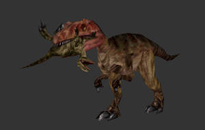 Carnivores 2 Cannon-style Saurophaganax by The---Other---One