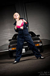 Tracey and the Trueno by destroyinc
