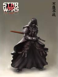 Samurai Vader by artofjosevega