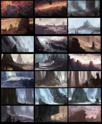 environment thumbs by artofjosevega