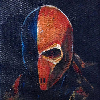Deathstroke - mini painting by artofjosevega