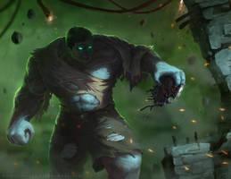 Incredible Hulk by artofjosevega