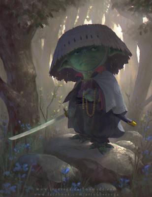 Edo Period Jedi by artofjosevega