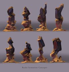 Rocks by artofjosevega