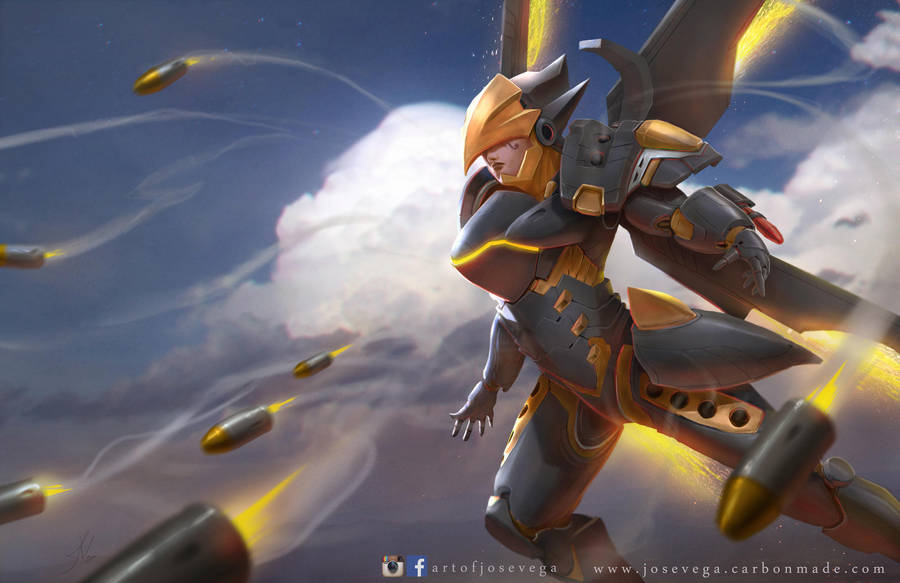 Pharah by artofjosevega