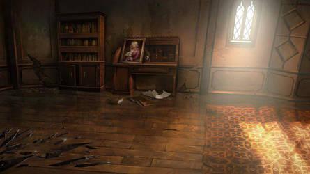 Castlevania season2 Background by artofjosevega