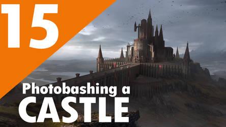 Photobashing a Castle by artofjosevega