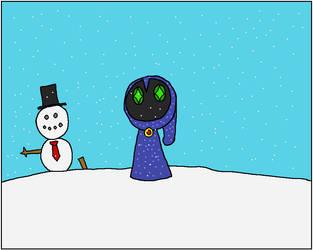 Postcard 5: Snowy by RedScyther722
