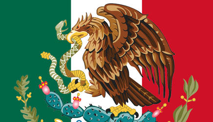 Mexican Flag Redesign by slimysomething