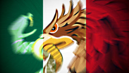 Another Mexican Flag Redesign by slimysomething