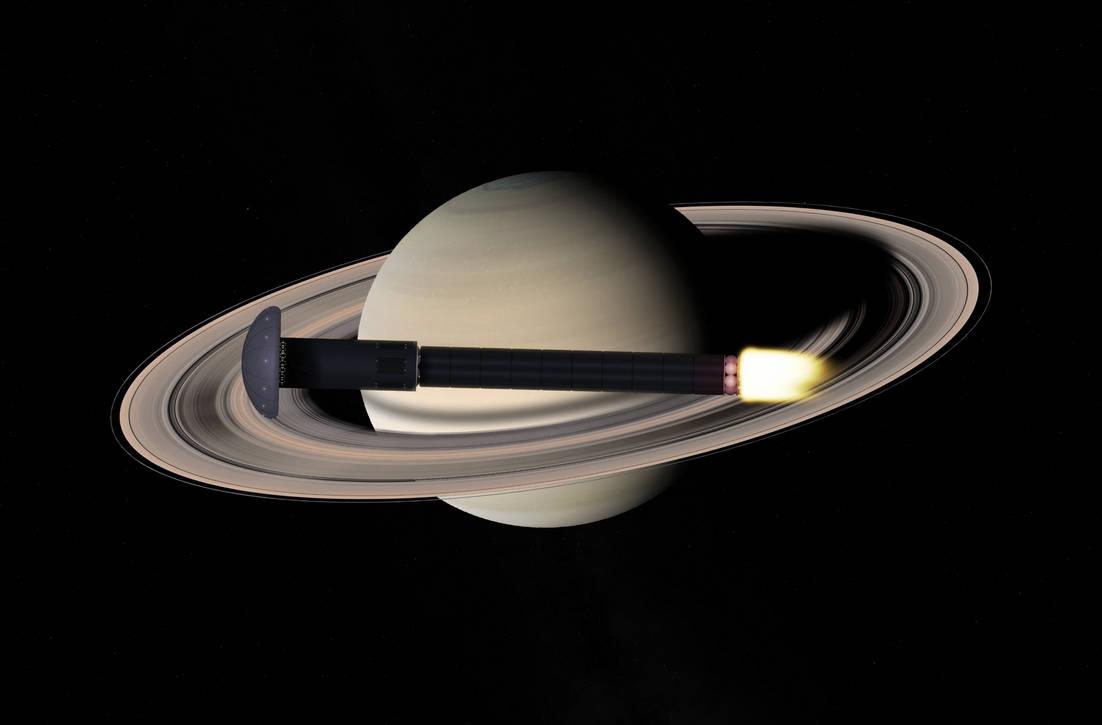 Braking at Saturn by slimysomething