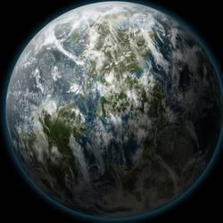 A random planet 2 by eViLe-eAgLe