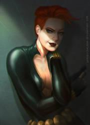 Black Widow by aerobicsalmon