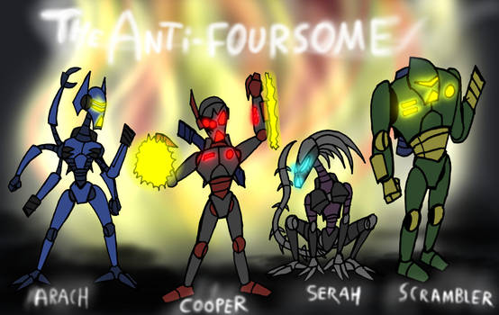 The Anti-Foursome v 2 by Finjix