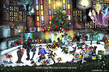The Fantastic Christmas party 2014 by Finjix