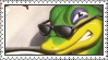 Gex Stamp by LoveAnimeAndCartoons