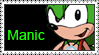 Manic Stamp by LoveAnimeAndCartoons