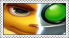 Ratchet and Clank: A Crack In Time Stamp by LoveAnimeAndCartoons